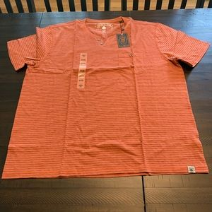 Other - Copper and Oak Short Sleeve Pocket Henley